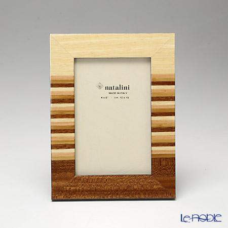 ナタリーニ 象嵌フォトフレーム 10×15cmRYO ブラウン