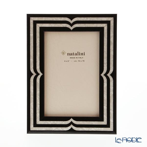ナタリーニ 象嵌フォトフレーム 10×15cm ベラッジオ ブラック
