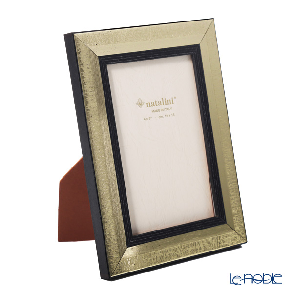 Natalini 'Argento' Wenge Italian Marquetry Picture Frame