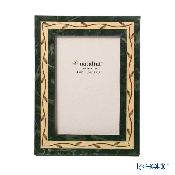 ナタリーニ 象嵌フォトフレーム 10×15cm ギルランダ グリーン