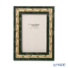 Natalini 'Ghirlanda' Green Italian Marquetry Picture Frame