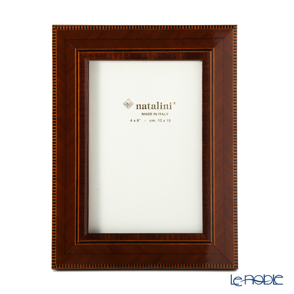 Natalini 'C/35/Cil/7' Brown Italian Marquetry Picture Frame