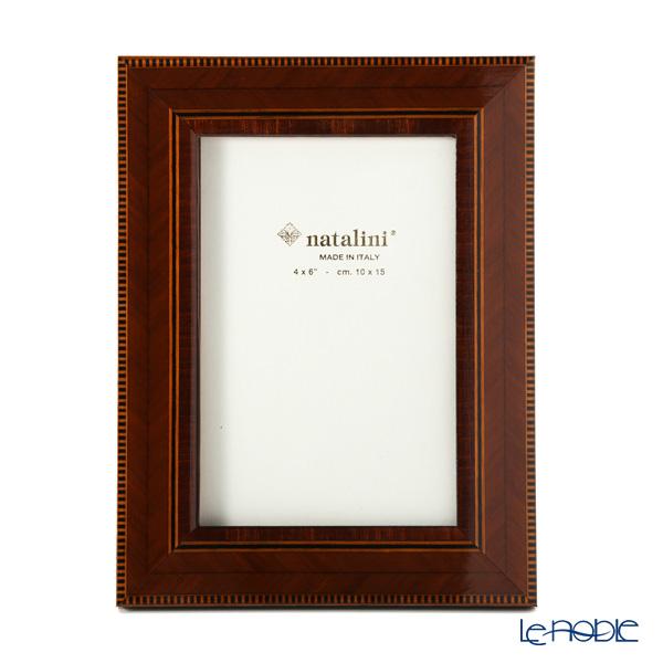 ナタリーニ 象嵌フォトフレーム 10×15cm C/35/Cil/7 ブラウン