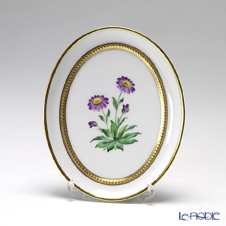 アウガルテン(AUGARTEN) メドウフラワーズ(6314A) エゾギク(アスター) スモールディッシュ(飾り皿) 12cm(841)