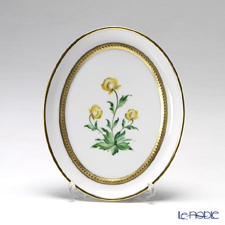 アウガルテン(AUGARTEN) メドウフラワーズ(6314D) 松葉ギク スモールディッシュ(飾り皿) 12cm(841)