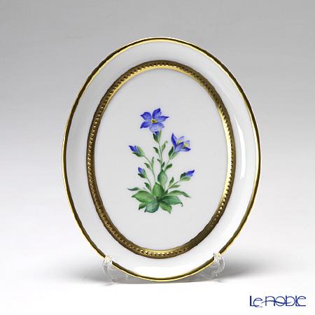 アウガルテン(AUGARTEN) メドウフラワーズ(6314E) リンドウ スモールディッシュ(飾り皿) 12cm(841)