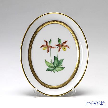 アウガルテン(AUGARTEN) メドウフラワーズ(6314F) アツモリソウ スモールディッシュ(飾り皿) 12cm(841)