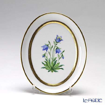 アウガルテン(AUGARTEN) メドウフラワーズ(6314G) ブルーベル(ユリ) スモールディッシュ(飾り皿) 12cm(841)