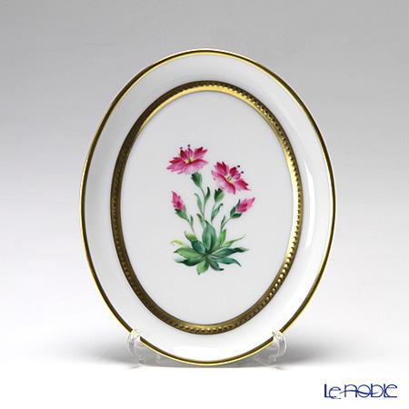 アウガルテン(AUGARTEN) メドウフラワーズ(6314N) アルパインフラワー(ピンク) スモールディッシュ(飾り皿) 12cm(841)