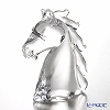 Collevilca horse head clear 22cm 2410150