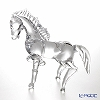 Colle Vilca / Italian Art Glass 'Whole Horse' Clear 2420100 Animal Figurine H31cm