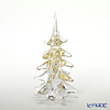 Colle Vilca Marcolin Art Crystal Objet Collection Christmas Tree, Small, Gold,  M0151518
