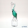 Colle Vilca / Italian Art Glass 'Flamingo' Green J-006-27-00 Animal Figurine H30.5 (S)