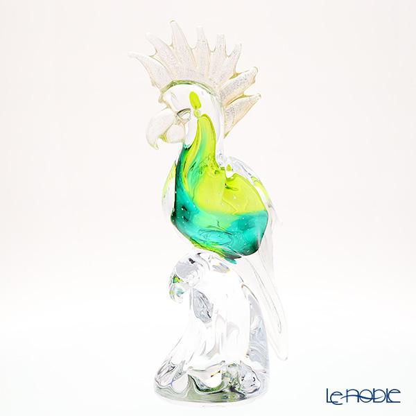 コッレヴィルカ オウム トサカUP 上ライトグリーン H34×W14.5 J-070-38-00