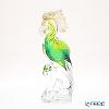 Colle Vilca / Italian Art Glass 'Papagena (Bird)' Green J-072-33-00 Animal Figurine H31cm