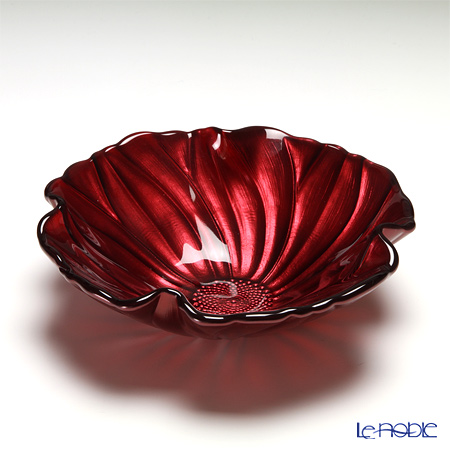 IVV Magnolia Individual Bowl 19 cm, pearlized red decoration 5170 / 5