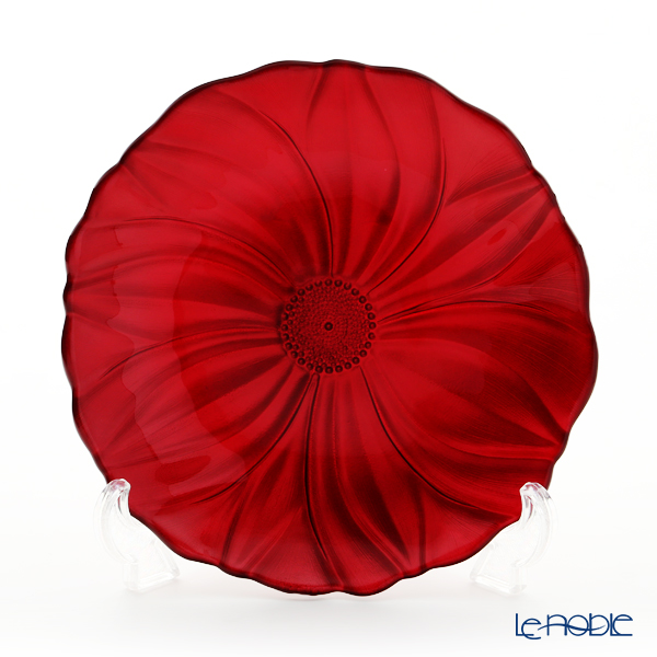 IVV 'Magnolia' Pearly Red 5332.1 Plate 22cm