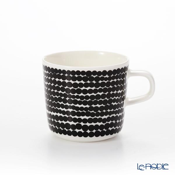 Marimekko Oiva/Siirtolapuutarha Mug 4 dl, white, black