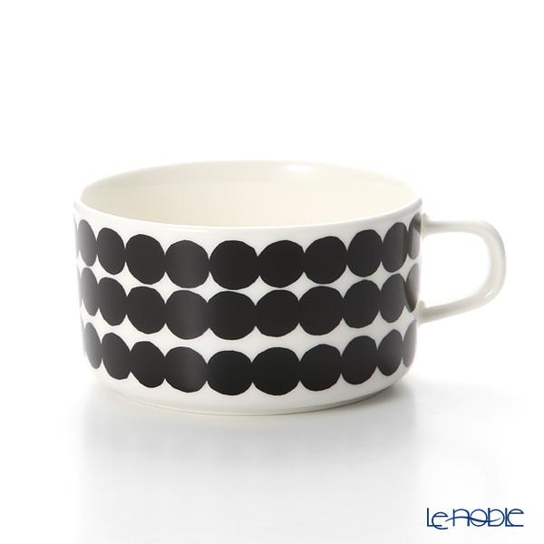 マリメッコ(marimekko) Siirtolapuutarha シイルトラプータルハ/市民菜園 ティーカップ 250ml(ブラック)