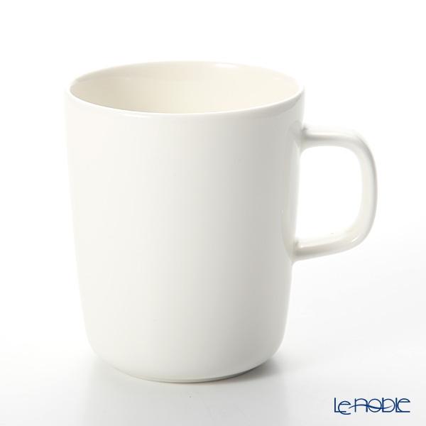 Marimekko 'Oiva / Superb' White Mug 250ml