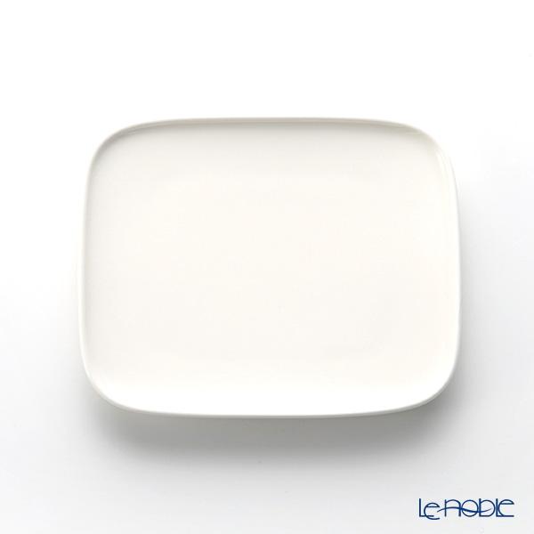 Marimekko Oiva White Rectangular Plate 15.5x12.5cm