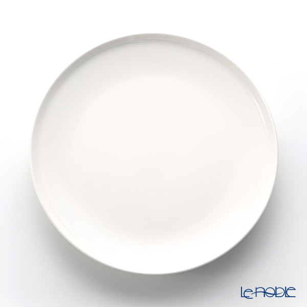 Marimekko 'Oiva / Superb' White Plate 25cm