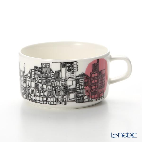 マリメッコ(marimekko) Siirtolapuutarha シイルトラプータルハ/市民菜園 ティーカップ 250ml(ピンク)