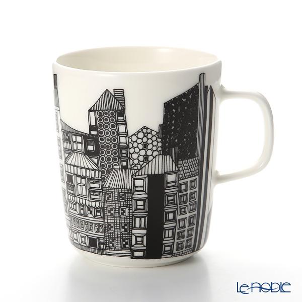Marimekko 'Siirtolapuutarha / City Garden' Orange Mug 250ml