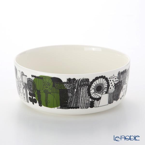 Marimekko 'Siirtolapuutarha / City Garden' Green Bowl 1500ml