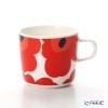 マリメッコ(marimekko) Unikko ウニッココーヒーカップ ホワイト×レッド200ml