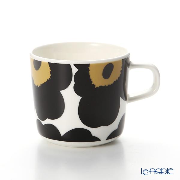 マリメッコ(marimekko) Unikko ウニッコ コーヒーカップホワイト×ブラック200ml