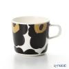 マリメッコ(marimekko) Unikko ウニッココーヒーカップホワイト×ブラック200ml