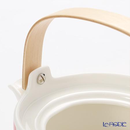 マリメッコ(marimekko) Unikko ウニッコティーポット ホワイト×レッド 17cm