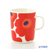 ( marimekko  Marimekko Unikko ( unikko  Mug 250 ml White x red 63431-001