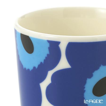 マリメッコ(marimekko) UNIKKOマグカップ 250cc ホワイト×ブルー 63431-017