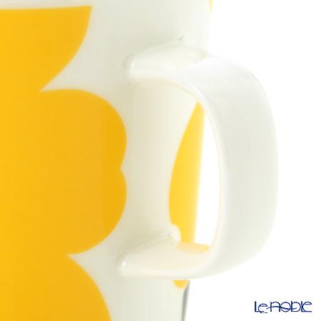 マリメッコ(marimekko) UNIKKOマグカップ 250cc ホワイト×ライム 63431-020