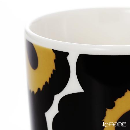 マリメッコ(marimekko) Unikko ウニッコマグカップ 250cc ホワイト×ブラック