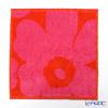 マリメッコ(marimekko) Unikkoミニタオル (レッド×ピンク)063837-330 25×25cm