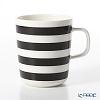 Marimekko Oiva/Tasaraita Mug 2,5 dl, black, white