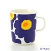 ( marimekko  Marimekko Unikko ( unikko  Mug 250 ml White x dark blue 63431-002
