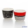 Marimekko (marimekko) shiltrapaatarha / City Garden Egg Cup set pair 4 cm