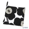Marimekko Pieni Unikko / Poppy White x Black Pot Holders 21x21cm (polyester)