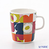 Marimekko (marimekko) Ruutu-Unikko (the unikko) Multi color mug 250 ml