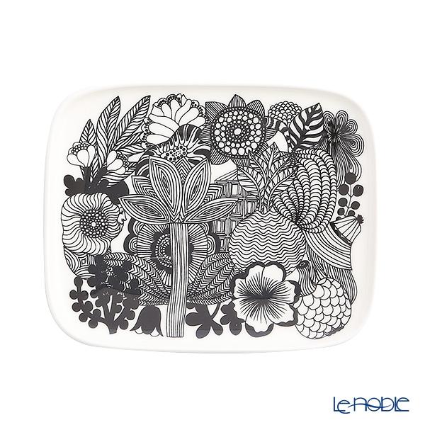 Marimekko 'Siirtolapuutarha  / City Garden' Rectangular Plate 15x12.5cm
