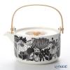 Marimekko (marimekko) Siirtolapuutarha shiltrapaatarha / City Garden 700 ml teapot (WH / BLxRD)