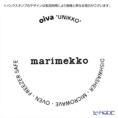 マリメッコ(marimekko) Unikko ウニッコプレート レッド 20cm