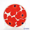 Marimekko (marimekko) UNIKKO Red plate 20 cm