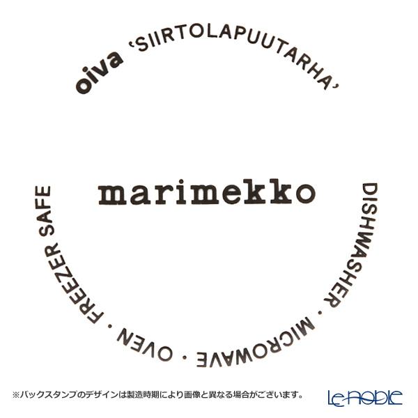 マリメッコ(marimekko) Rasymatto ラシィマット/使い込まれたラグボウル ホワイト×ブラック 400ml