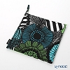 Marimekko 'Pieni Siirtolapuutarha / City Garden' White x Black 067807-160 Pot Holders 21x21cm (Polyester)