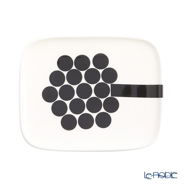 Marimekko Hortensie / Hydrangea Rectangular Plate 15x12.5cm